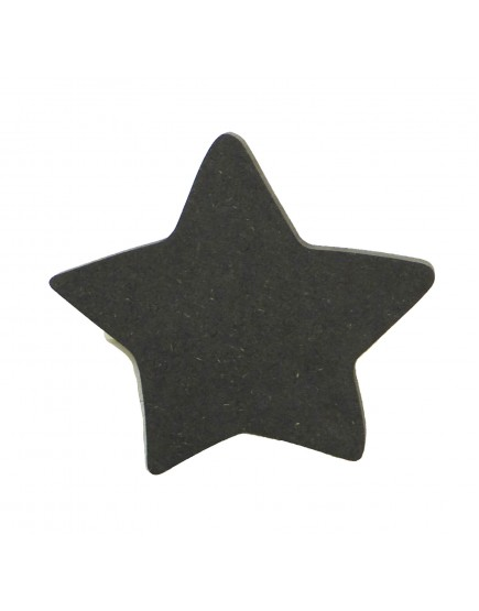 Wooden black star hook